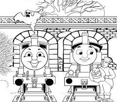 Halloween Coloring Pages Pdf by Thomas The Train Halloween Coloring Pages Eson Me