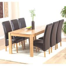 6 seater oak dining table 6 seater dining table and chairs new milan oak dining table and 6