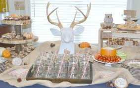 woodland baby shower decorations fawn baby baby jentry s winter woodland themed baby shower