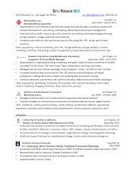 Copywriting Resume Resume Of Stuart Haack