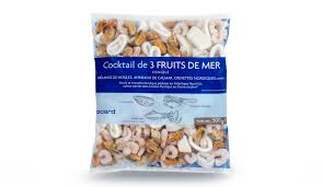 cuisiner cocktail de fruits de mer surgelé cocktail de 3 fruits de mer crevettes moules anneaux de calmar