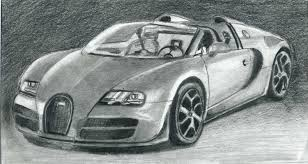 cars drawings youdraw how to draw bugatti veyron super car step by step youtube