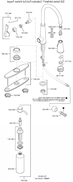 price pfister kitchen faucet parts diagram price pfister kitchen faucet parts marielle series moen high arc