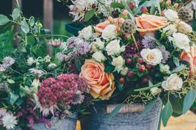 wedding flowers edinburgh lavender event prop hire flowers