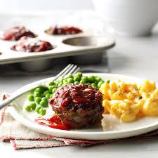 meat loaf muffins recipe taste of home