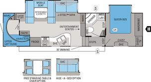 Fifth Wheel Floor Plans 2012 Eagle Super Lite Jayco Inc