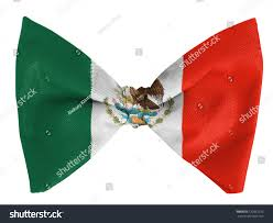 Mwxican Flag Mexico Mexican Flag On Bow Tie Stock Photo 120861253 Shutterstock