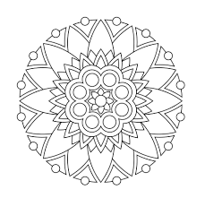 coloring brilliant ideas of printable mandala coloring in also