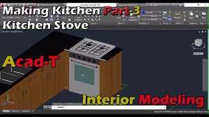 Autocad Kitchen Cabinet Blocks How To Make Kitchen In Autocad 2016 Kitchen Stove Autocad For