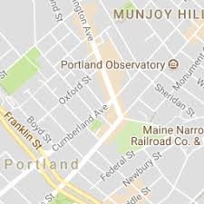 map of maine with cities bank of america financial center in portland me 1 city ctr