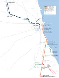 Map Of Chicago Airport Crossrail Chicago Midwest High Speed Rail Association