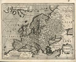 Map Of Denmark Old Map Of Denmark 16th Century Europe Fine Art Reproduction