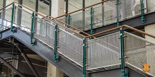 stainless steel banister rails perforated metal railings stainless steel modular railings blade