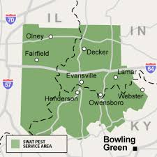 map of ky and surrounding areas evansville indiana owensboro kentucky swat pest management