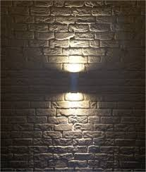 square up down light wall luminaires with directed light up down or dual direction