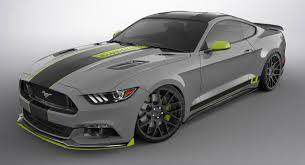 six customized ford mustangs shape up for sema
