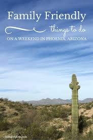 family friendly things to do on a weekend in arizona