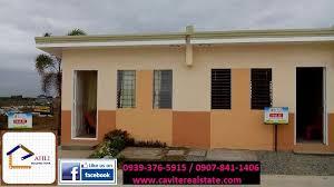 Row House Model - abot kaya na magkabahay sa kaia homes house and lot in cavite