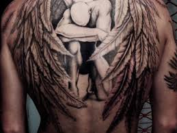 wing tattoos on back download back tattoo for men wings danielhuscroft com