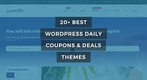 20 best wordpress daily coupons u0026 deals themes of 2017 raratheme