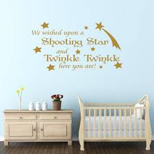 Nursery Wall Decorations Removable Stickers Ba Nursery Decor Shooting Ba Wall Stickers For Nursery In