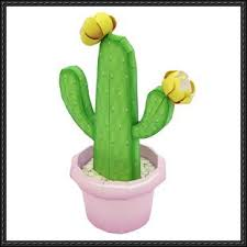 papercraft ornamental plant opuntia cactus prickly pear free