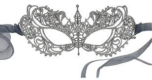 silver masquerade masks for women luxury mask women s stunning all silver lace