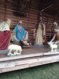 2015 outdoor manger picture of cathedral of paul