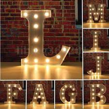 marquee letter light collectibles ebay