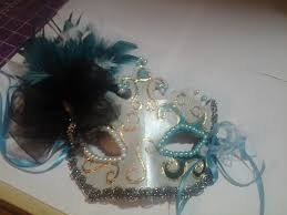 teal masquerade masks terrific in teal masquerade mask 16 steps with pictures