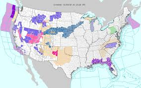 us weather map this weekend sd counties south of i 90 winter for weekend