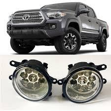 toyota tacoma fog lights car styling for toyota tacoma 2016 2017 9 pieces leds chips led fog