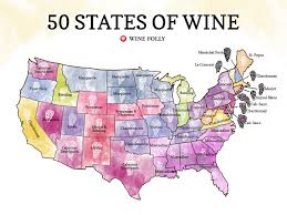Virginia Wine Trail Map by 50 States Of Wine Map Wine Folly