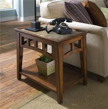 Side Table With Built In Lamp Slate End Tables Homesfeed