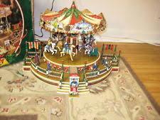 christmas carousel mr christmas carousel ebay