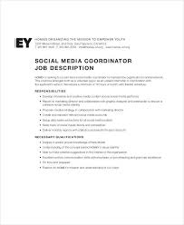 social media job description 9 free pdf documents download