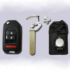 modified flip key shell replace honda accord standard remote 2 1