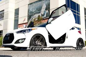 More Kit For New Hyundai by Hyundai Veloster 2011 2016 Vertical Lambo Doors Bolton Conversion