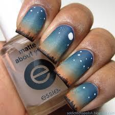 best 25 sky nails ideas on pinterest star nails dark nail art