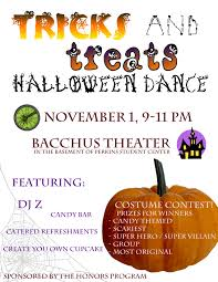 annoucement halloween dance we came for a good time 186 south