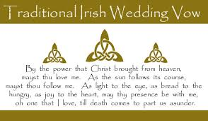 wedding blessing words wedding vow the site is a commercial but mán those