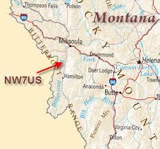 bitterroot mountains map radio wide nw7us tomas david