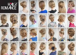 different hair buns ideas about easy hair buns hairstyles for