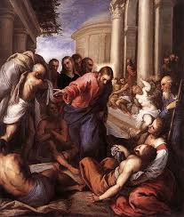 Christ Healing The Blind Fourth Sunday Of Lent The Man Born Blind