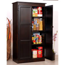 onyx black wooden portable kitchen pantry cabinets combined floor