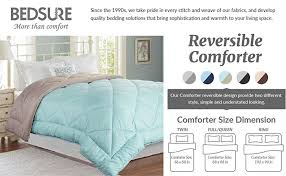 Difference In Duvet And Comforter Amazon Com Twin Reversible Comforter Duvet Insert With Corner