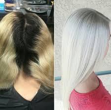 silver blonde color hair toner color transformation platinum perfection blondes hair coloring