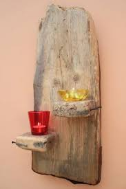 Driftwood Wall Sconce Driftwood Wall Sconce Tea Light Holder With Copper