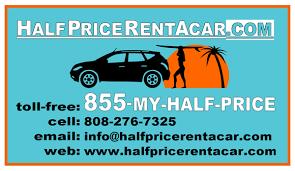 rent a price half price rent a car car rental 415 dairy rd kahului hi