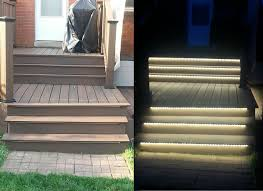 Stair Lights Outdoor Inspired Led Outdoor Lighting Stair Lighting By